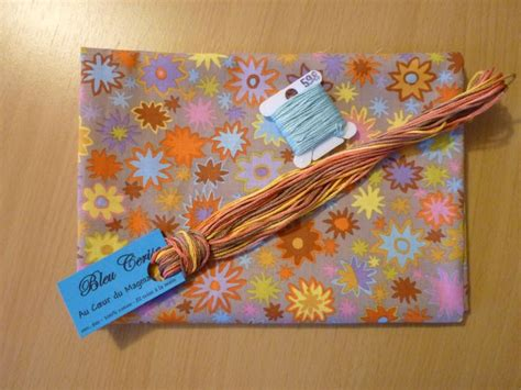 Marque page Hardanger - Galouba passions