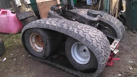 Skid Steer built from peerless trans-axle - Custom Tractor
