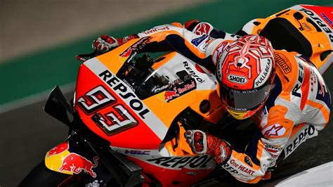 Marc Marquez on record pace in Qatar practice - Qatar
