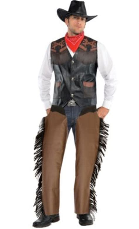 Adult Cowboy Chaps - Party City