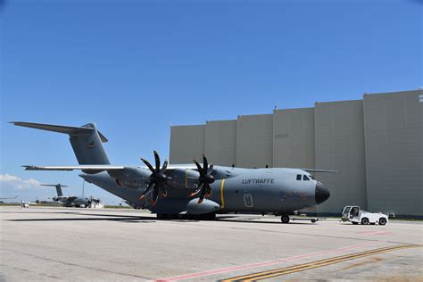 [Pictures] Seville Airbus A400M assembly plant visit