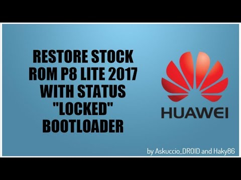 Install B535 Stock Firmware On Huawei P8 Lite (ALE-L23