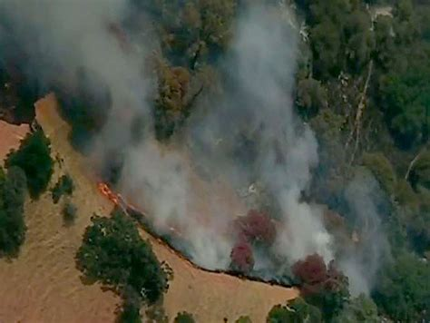 Cal Fire: Fire Burning North Of Vacaville Now At 150 Acres