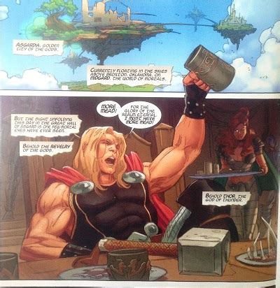 marvel - Do Odin and Thor eat and drink? - Science Fiction