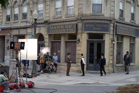 On Location   Murdoch Mysteries   On location for the