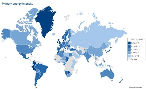 List of countries by energy intensity - Wikipedia