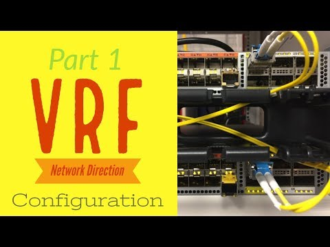 Solved: Leaking connected routes into VRF Routi