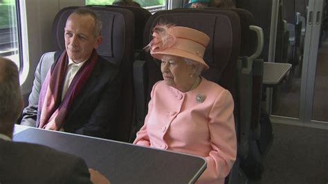 Queen reveals love of trains as she recreates first Royal