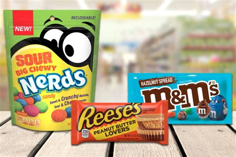 Slideshow: New products from Hershey, Mars, Ferrara Candy