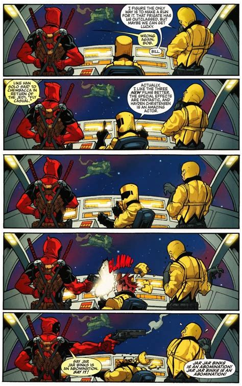 marvel - In which Deadpool comic does he kill over liking