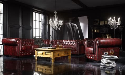 Mobilier anglais et style Chesterfield - Home Dome