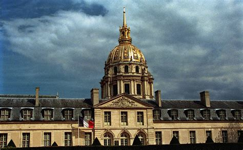 The dome of Saint-Louis des Invalides church seen from