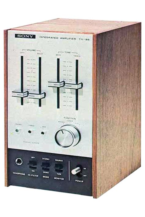 Sony TA-88 Integrated Stereo Amplifier Manual | HiFi Engine