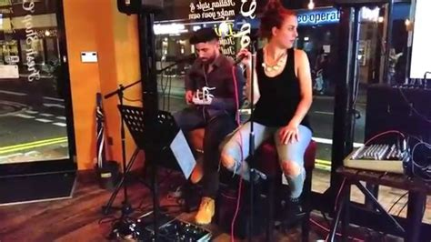 Jessica Greenfield & Alquore Get Lucky live @ Fresh Shop