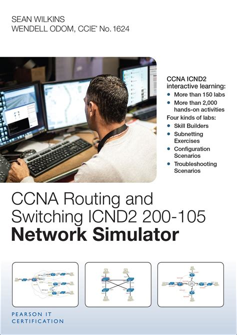 CCNA Routing and Switching ICND2 200-105 Network Simulator