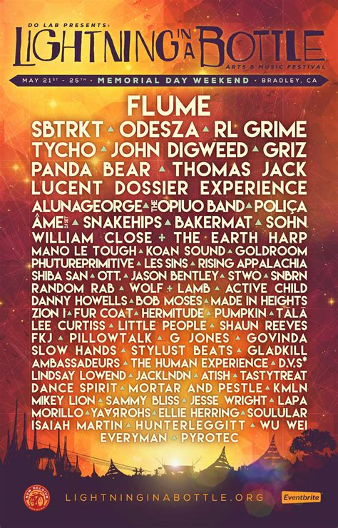 Lightning In A Bottle Captures Us With Their 2015 Lineup