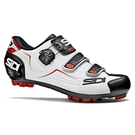 Chaussures Sidi MTB Trace VTT 2018 BLANCHE /ROUGE