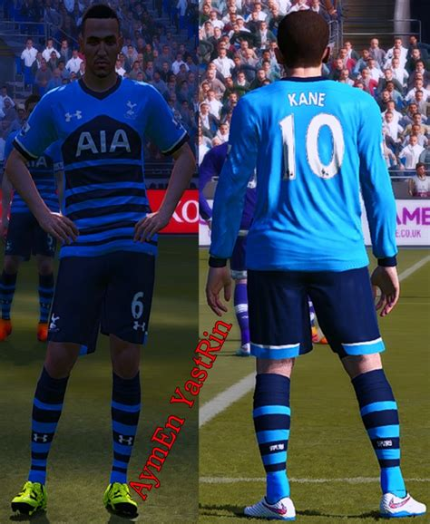 PES 2015 Spurs Full Players KitPack 2016 by YastRin - PES