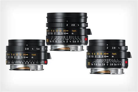 Leica Unveils 3 New Wide-Angle M Lenses: The 28mm f/2