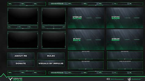 Free Animated Stream Package - Twitch Graphics and Overlays