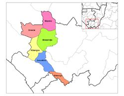 Districts of the Republic of the Congo - Wikipedia