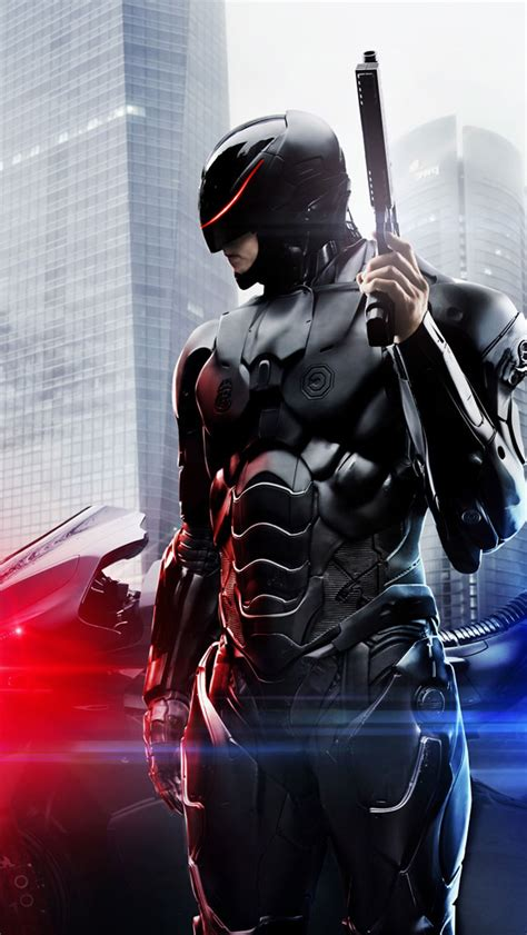 RoboCop 2014 Movie iPhone 6 / 6 Plus and iPhone 5/4 Wallpapers
