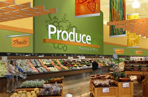 Interior Market Design | Grocery Store Rendering | Produce