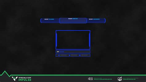 Free Twitch Stream Overlay   Visuals by Impulse