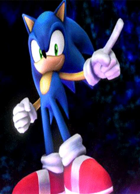 Sonic the Hedgehog Forbid-Pose GIF by RealSonicSpeed on