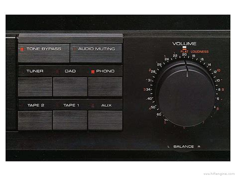 Yamaha C-80 - Manual - Stereo Control Amplifier - HiFi Engine