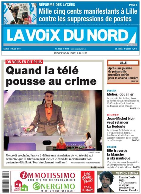 Journal La Voix du Nord (France)