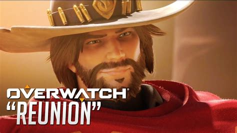 """OVERWATCH Official Animated Short """"Reunion"""" - Ashe Reveal"""