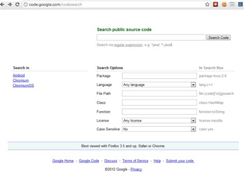 Google Code Search, Still Available
