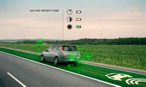 Smart roads with built in light which could one day even