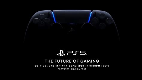 Sony Announces New Date for PS5 Game Reveal Event