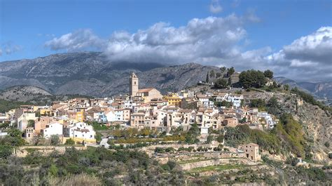 Polop, Costa Blanca, Spain   We passed the beautiful old