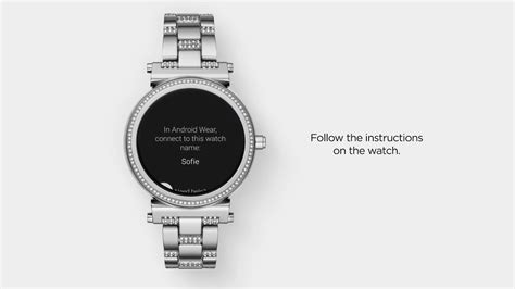 Michael Kors Access Sofie Smartwatch   Set Up and