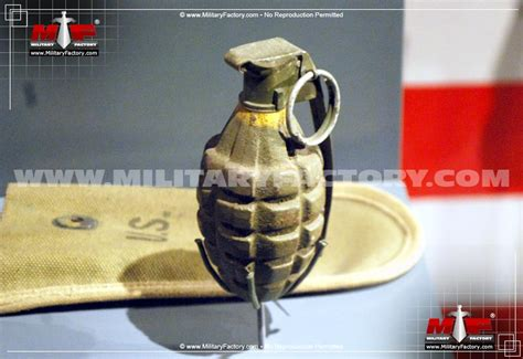 Pictures of the Mk II / Mk 2 (Pineapple Hand Grenade