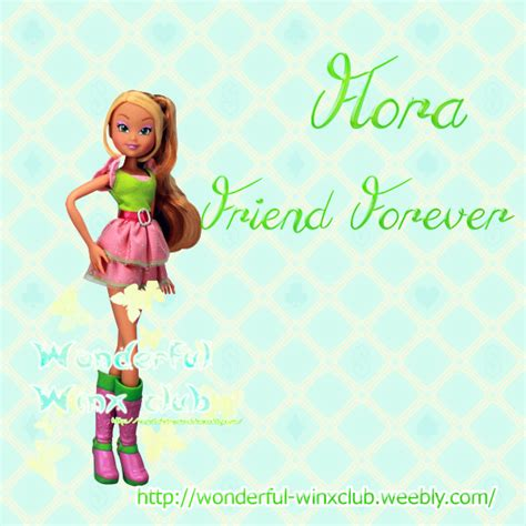 Flora forever Friends witty toys