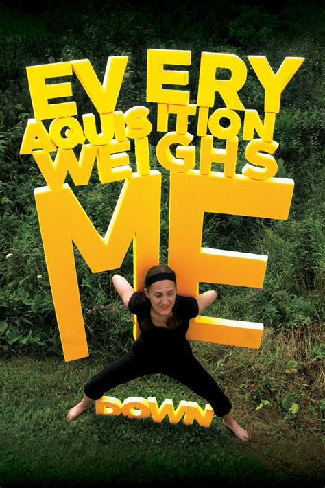 MARIE-LOIC SENAMAUD - Every acquisition weighs me down