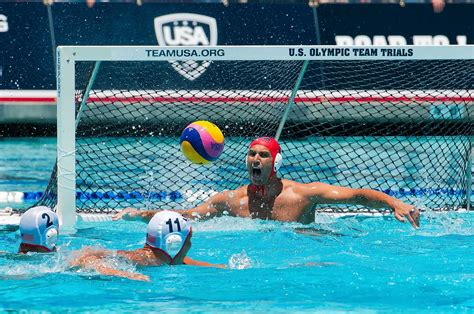 WATER POLO: USA Men Downed By Germany 20-12 On Day Two Of