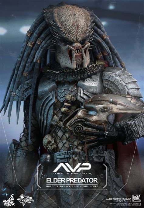Hot Toys Sixth Scale AVP Elder Predator V2 - MightyMega