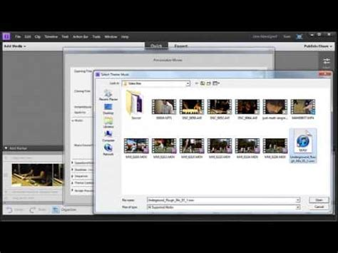 Instant Movie with Adobe Premiere Elements 11 - YouTube